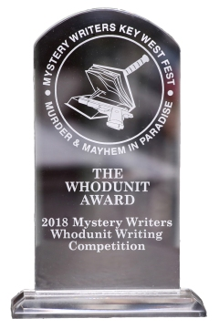 Mystery Fest Key West, Whodunit Mystery Writing Competition Award.